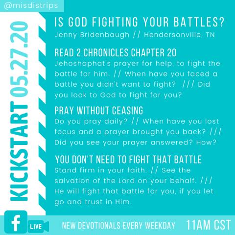 Kickstart 5-27-20