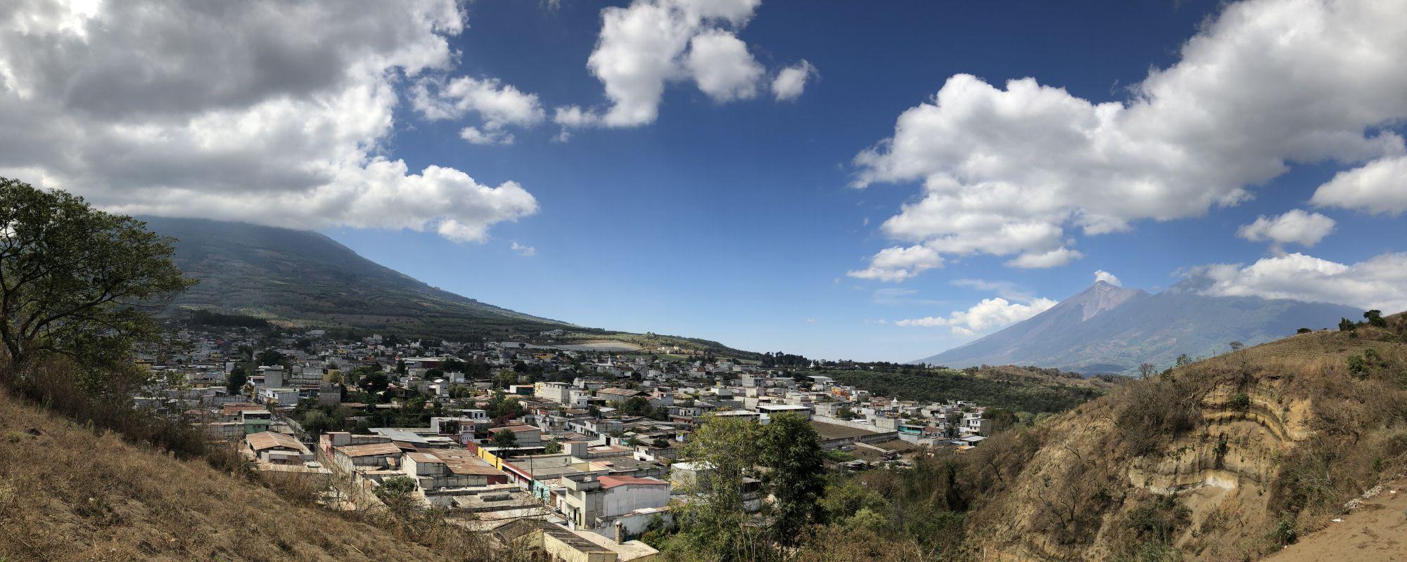 Distant image of Guatemala