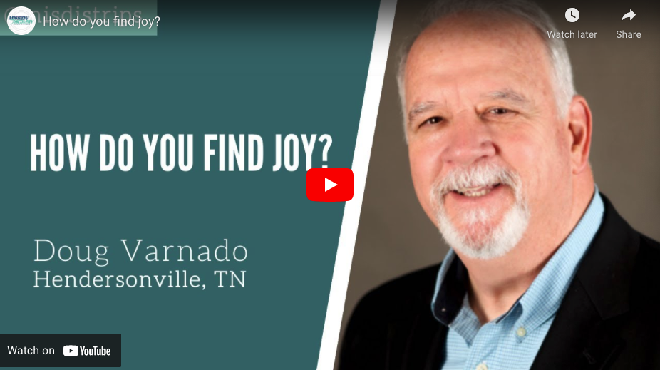 How do you find your joy?