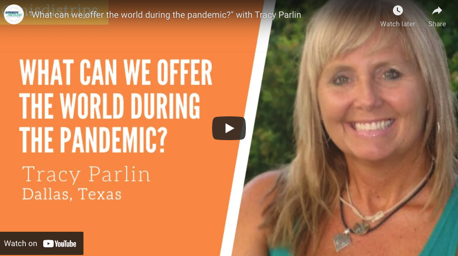 What Can We Offer The World During the Pandemic?