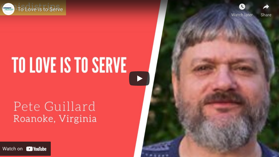 To Love Is To Serve
