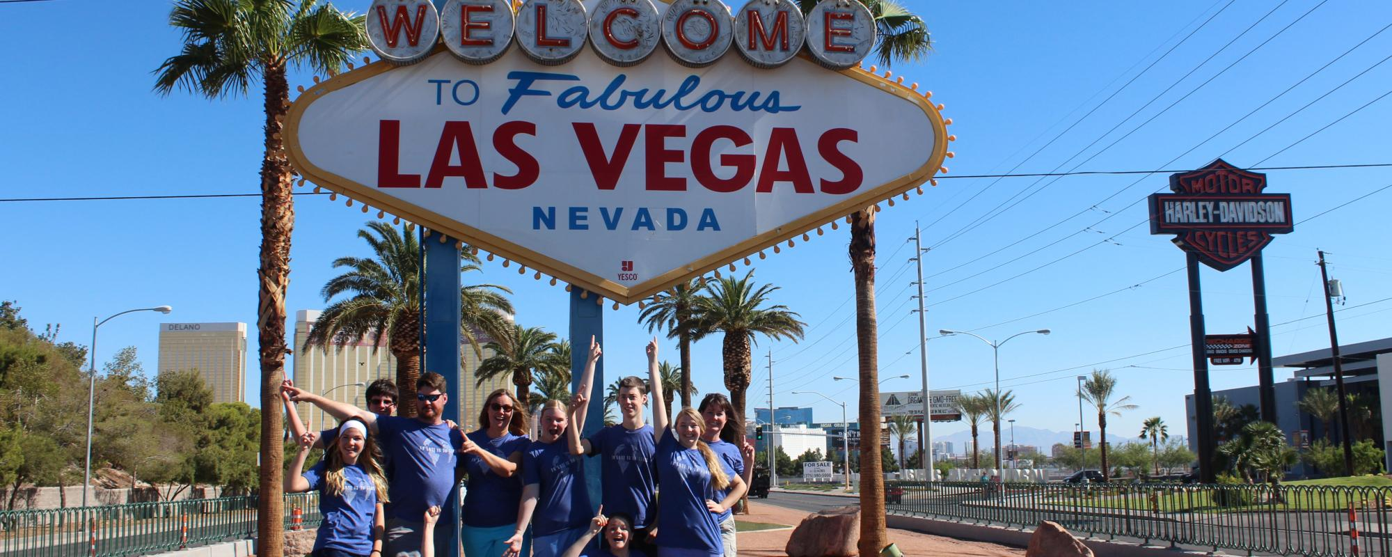 Las Vegas Mission Trip Group of People