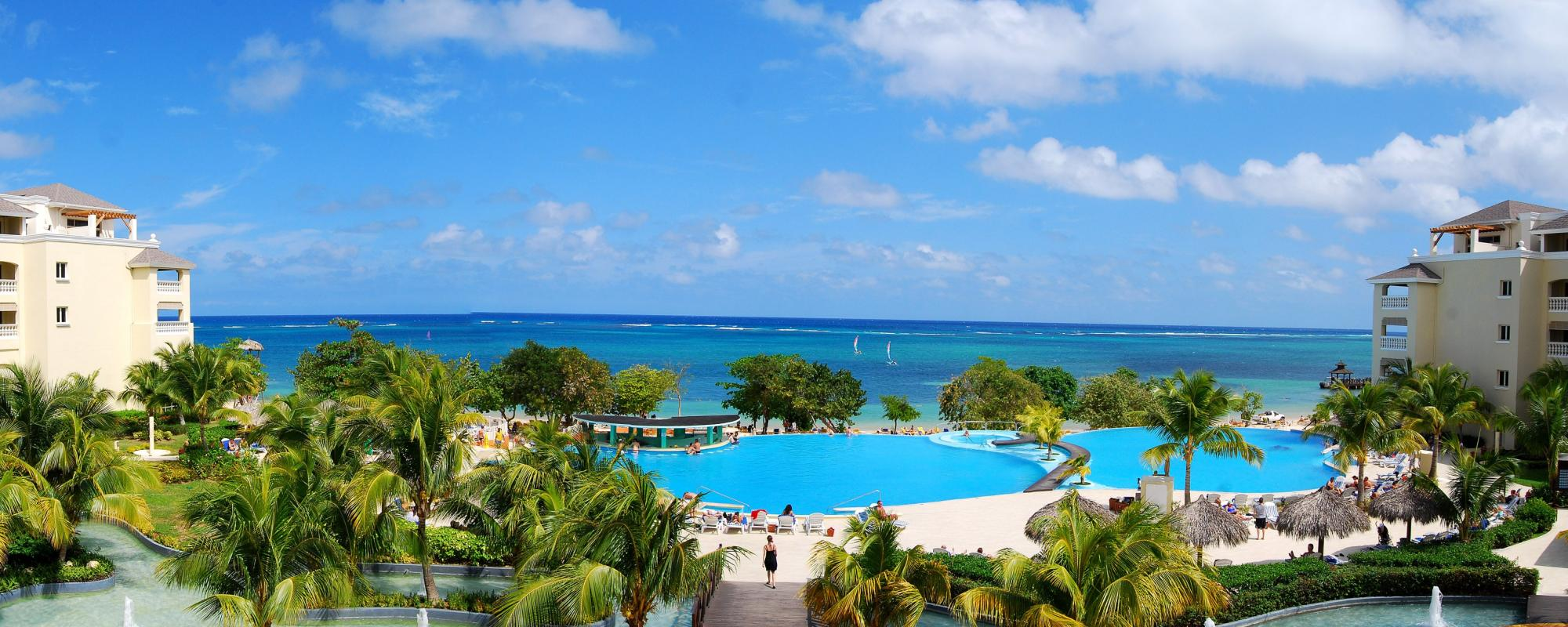 Montego Bay pools and water