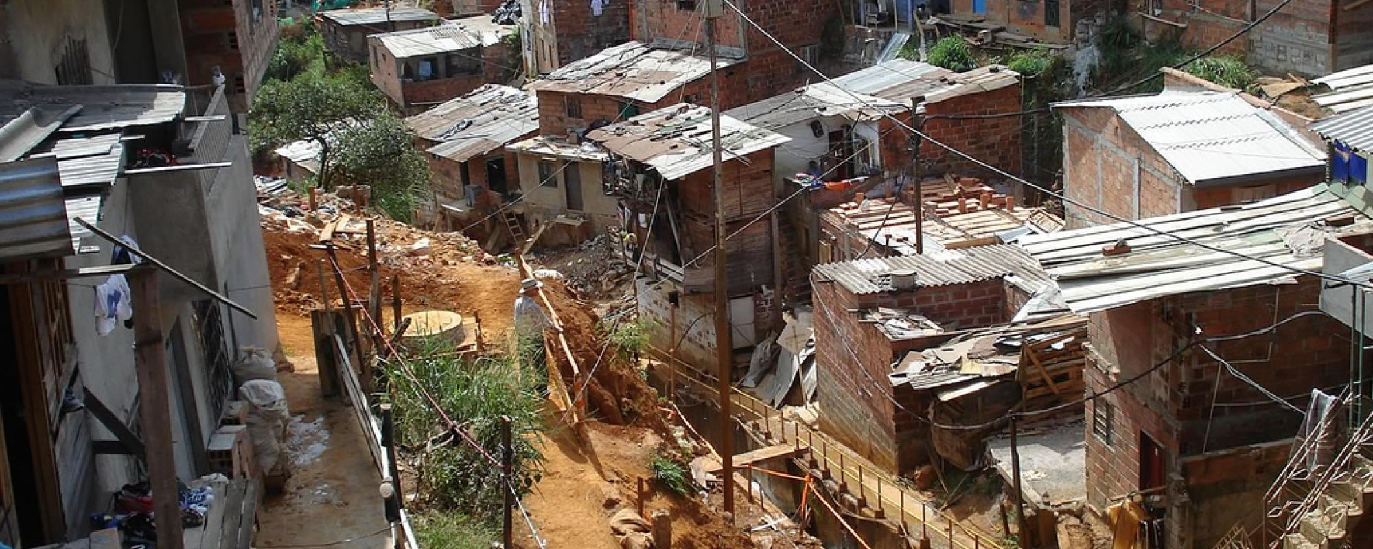 poverty area in colombia