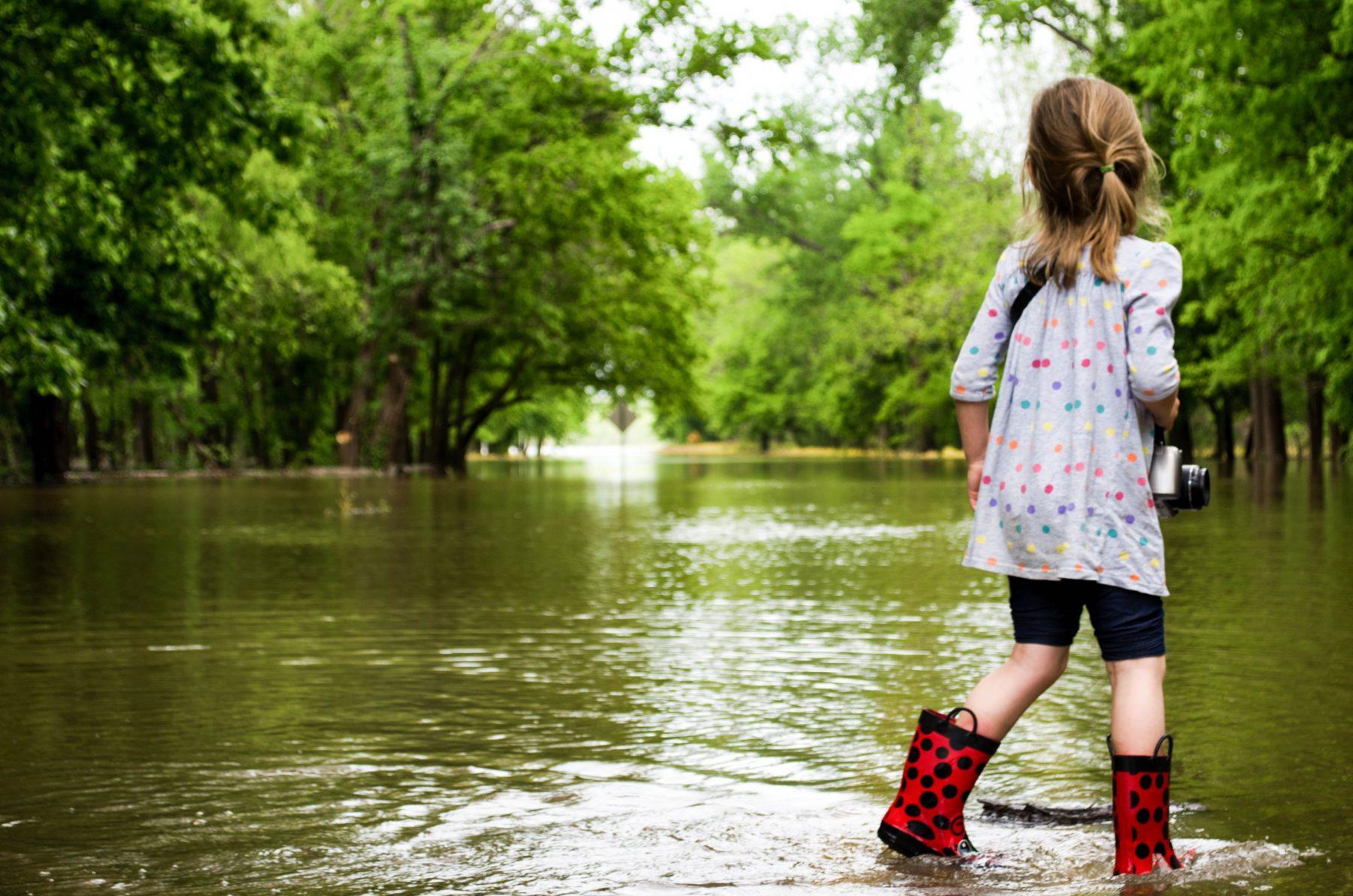 Flood Victim